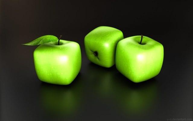 cubik apple 640x400