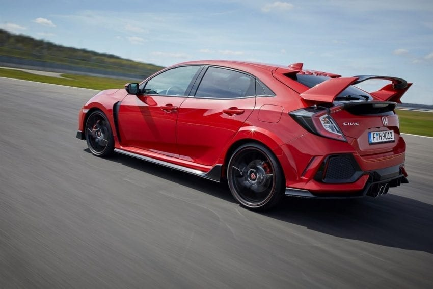 euro spec 2018 honda civic type r details revealed through photos. Black Bedroom Furniture Sets. Home Design Ideas