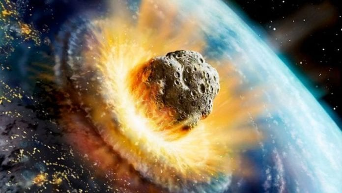 asteroid headed directly to earth - photo #4