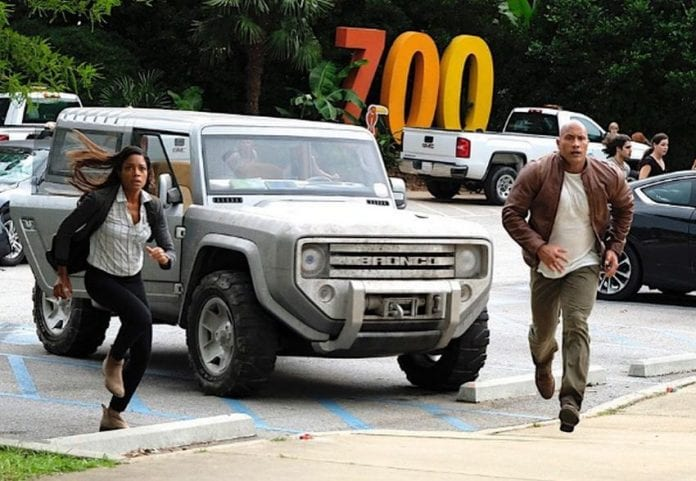 Dwayne Johnson S Next Movie Will Use The New Ford Bronco