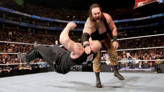 Strowman vs. Lesnar