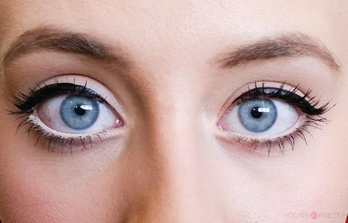 how to clean your eyes and make them white