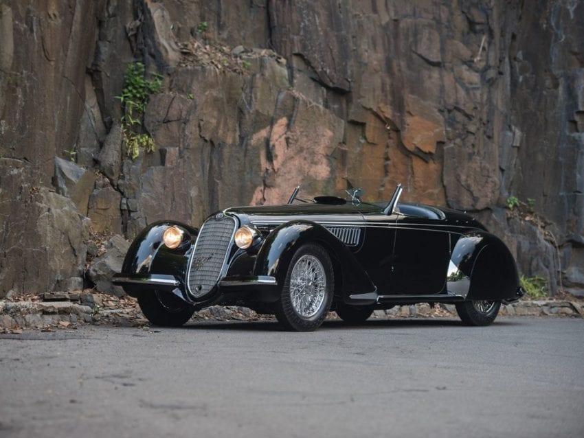 1939 Alfa Romeo 8C 2900 B Lungo Spider 19800000 850x638
