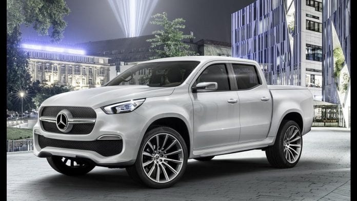 2018 Mercedes X-Class Pickup Truck Teaser – Reveal Expected Later in July