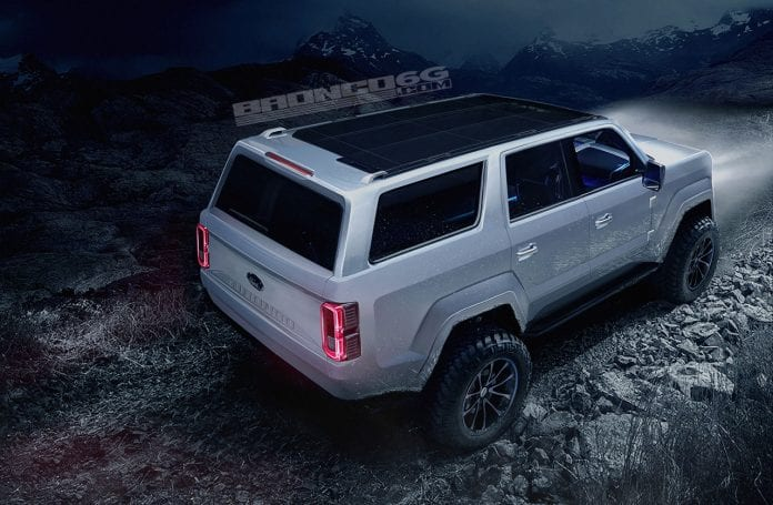 Let S Talk About 4 Door 2020 Ford Bronco Concept