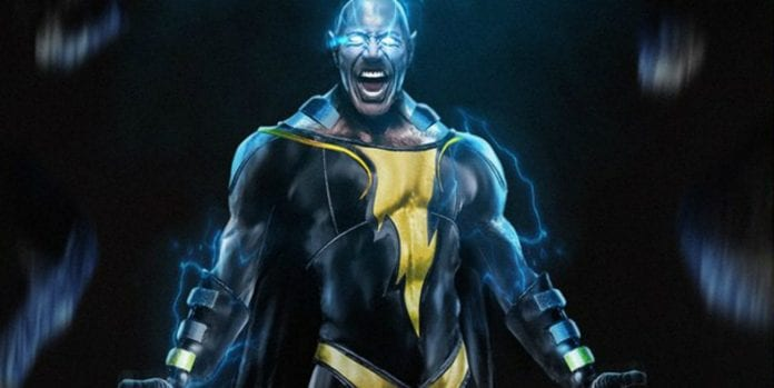 Dwayne The Rock Johnson as Black Adam in Shazam