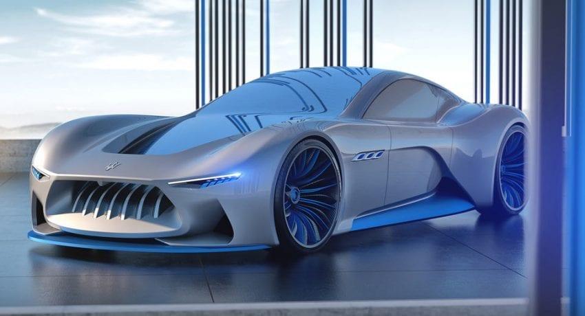 Maserati Genesi Concept 850x460
