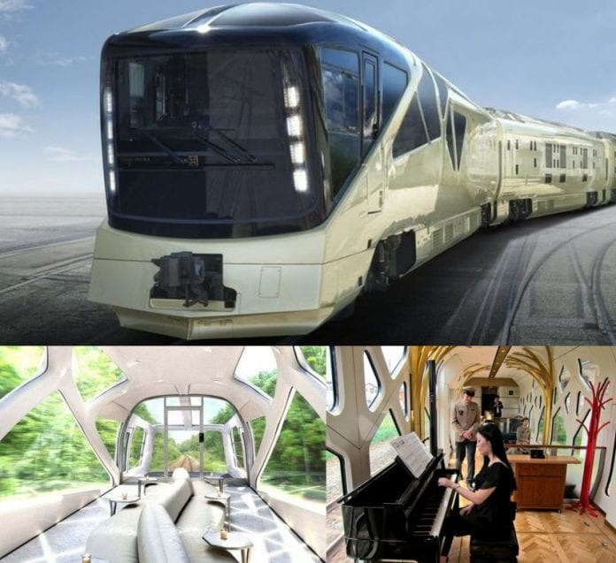 Japanese Luxury Train – Here is What It Is Like