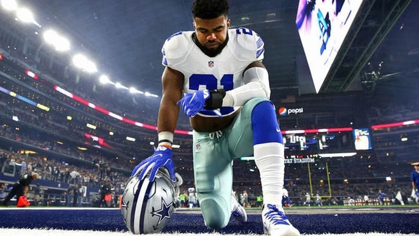 'Growing sense' Cowboys Ezekiel Elliott may face suspension from domestic violence investigation