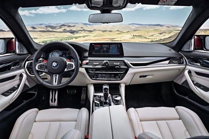 2018 BMW M5 6