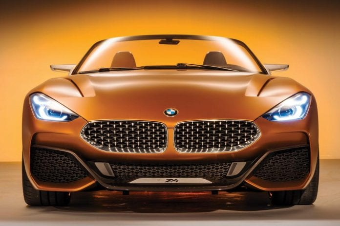 2018 bmw z4 official teaser photo released news and rumors. Black Bedroom Furniture Sets. Home Design Ideas