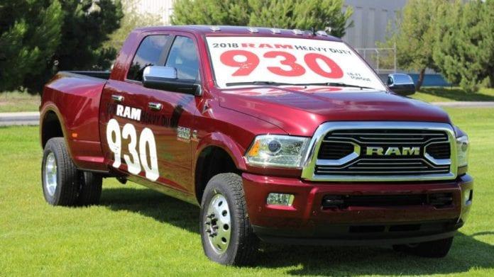 2018 RAM 3500 heavy duty revealed