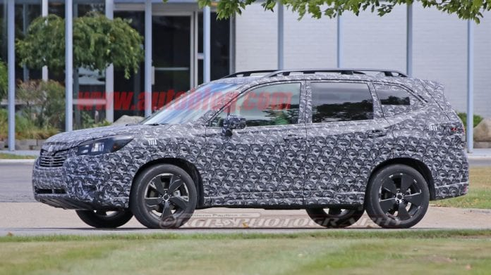 Forester 5th Generation >> 2019 Subaru Forester Spy Photos | Release date, Price, XT