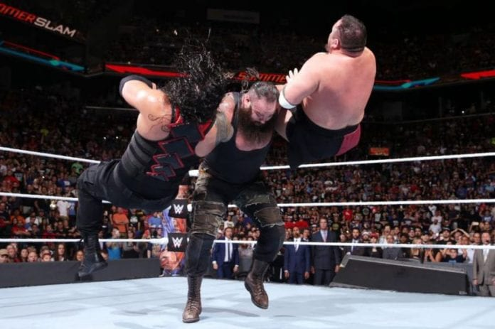 Braun Strowman Made To Look Like A Monster At Summerslam