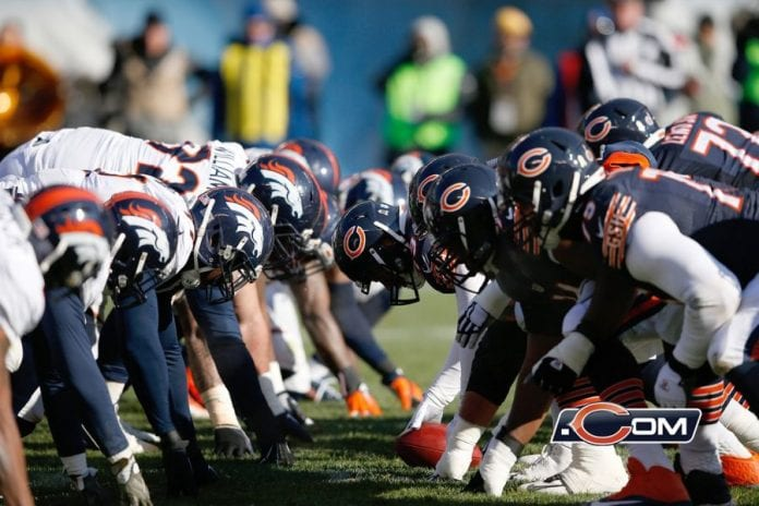 Kyle Long, Lamarr Houston among Bears not playing against Broncos