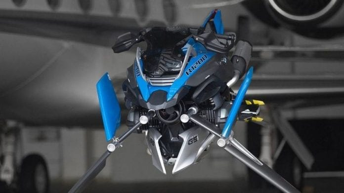 The BMW R 1200 Hover Bike Concept 1