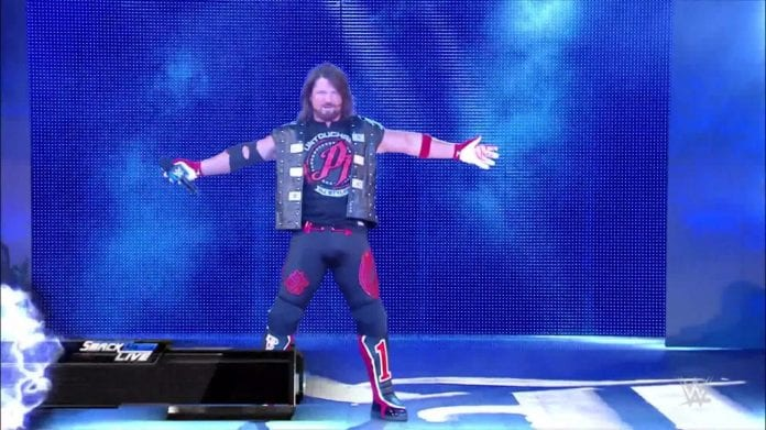 AJ Styles says he can still improve in his wrestling career