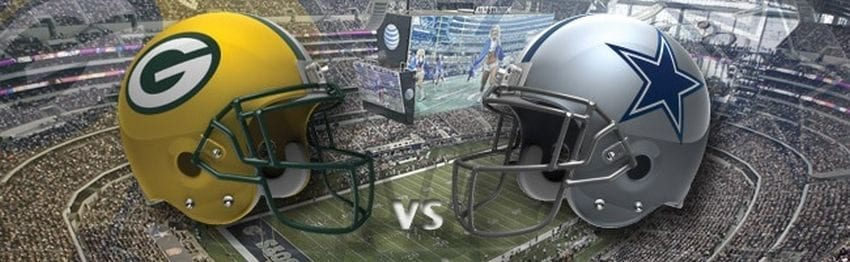 dallas cowboys green bay packers 850x262