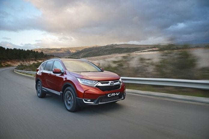 New honda cr v offers additional room and equipment for Honda cr v incentives