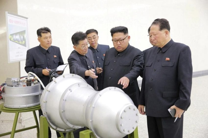 Tremor detected in N.Korea after sixth nuclear test