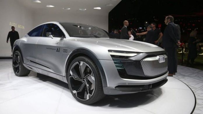 2017 Audi Elaine – The Future of Electric Sports Cars?