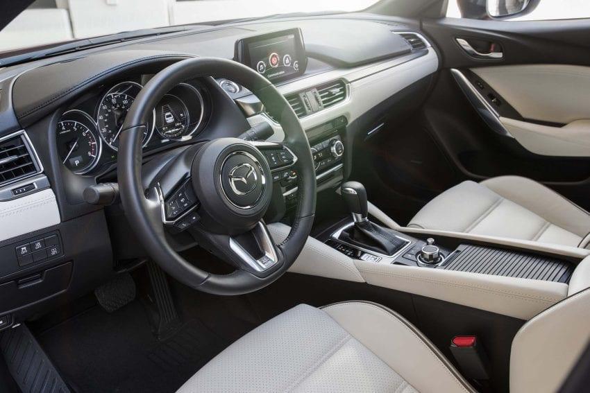 2017 Mazda6 interior 850x567