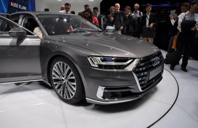 2019 Audi A8 doors
