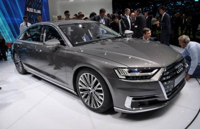 2019 Audi A8 exterior
