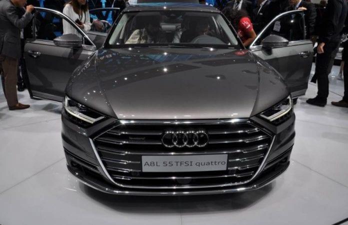 2019 Audi A8 grille