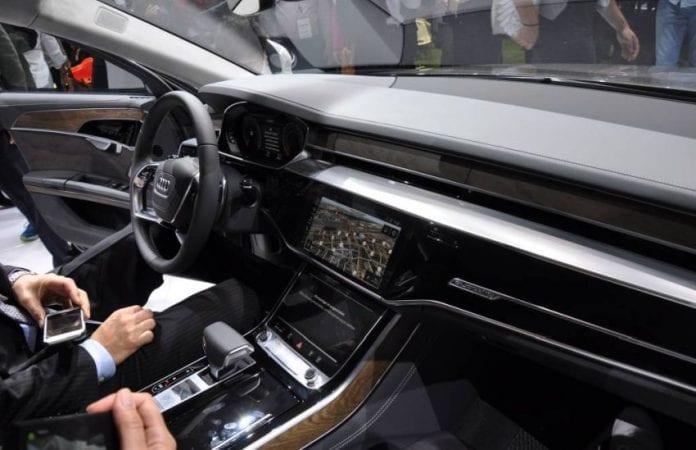 2019 Audi A8 interior