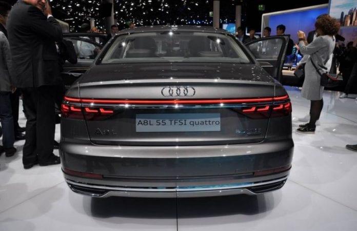 2019 Audi A8 rear end