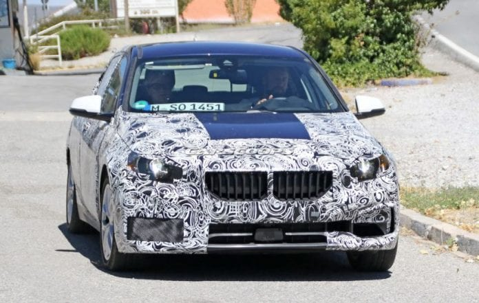 2019 BMW 1 Series front