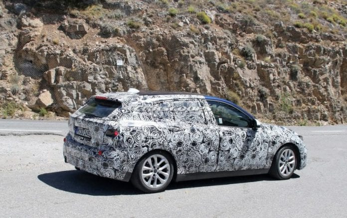 2019 BMW 1 Series rear right side