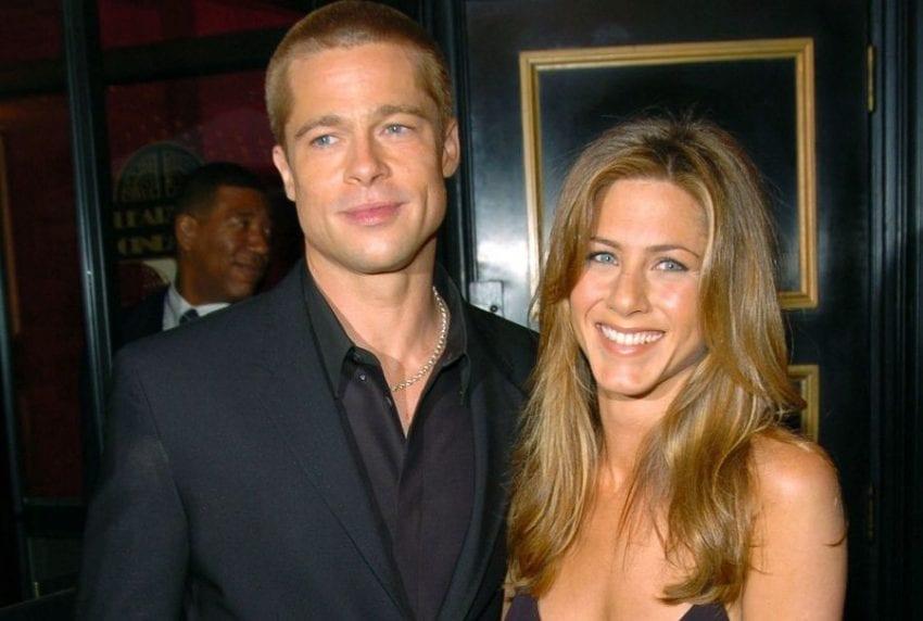 Brad Pitt Jennifer Aniston 850x572