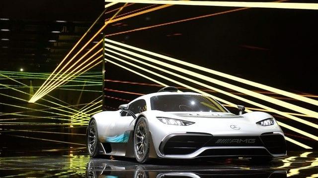 Mercedes Unveils New 2.7 Million Supercar