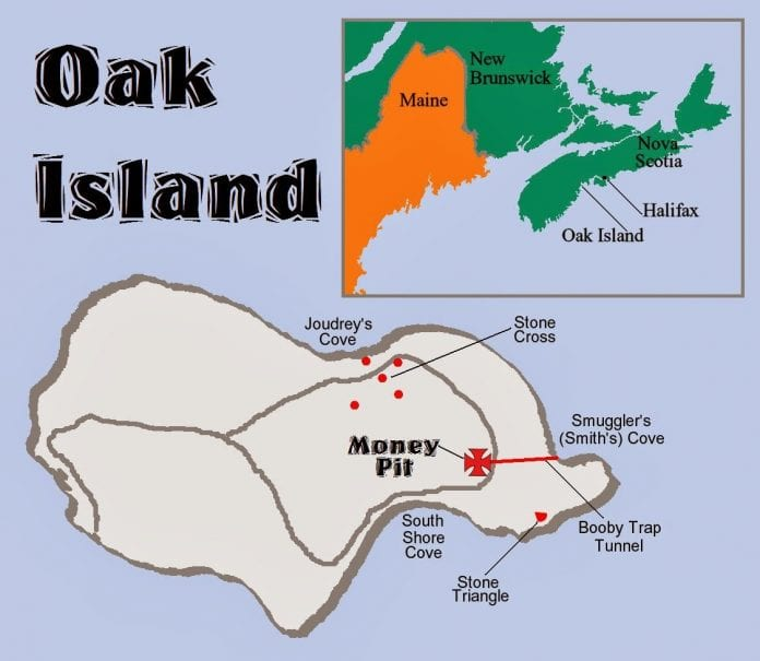 History Channel Show About Money Pit Oak Island