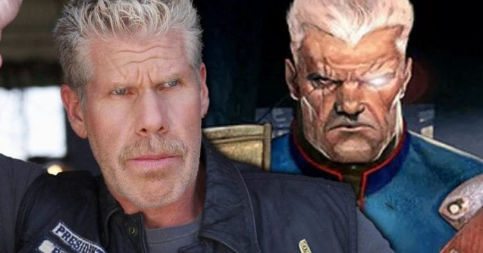 Ron Perlman as Cable