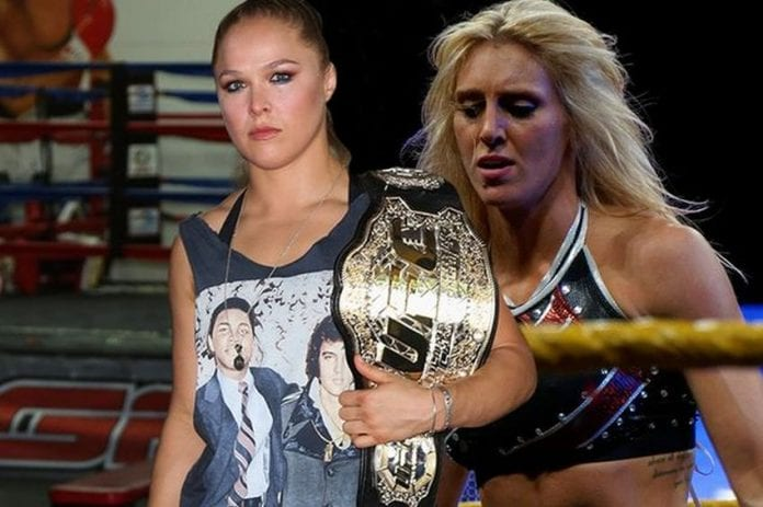 Ronda Rousey and Charlotte