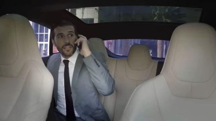 Tesla no driver