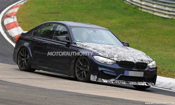 2018 BMW M3 CS design