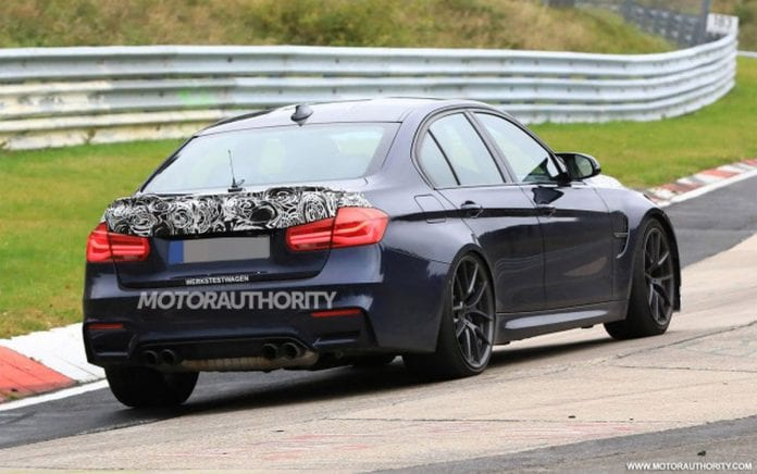 2018 BMW M3 CS rear right side