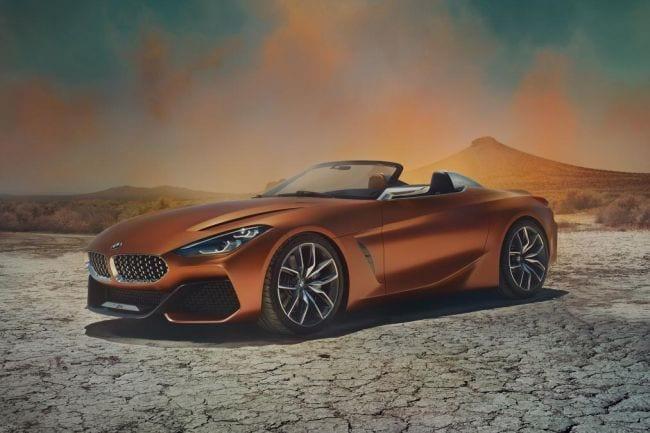 2018 BMW Z4 8