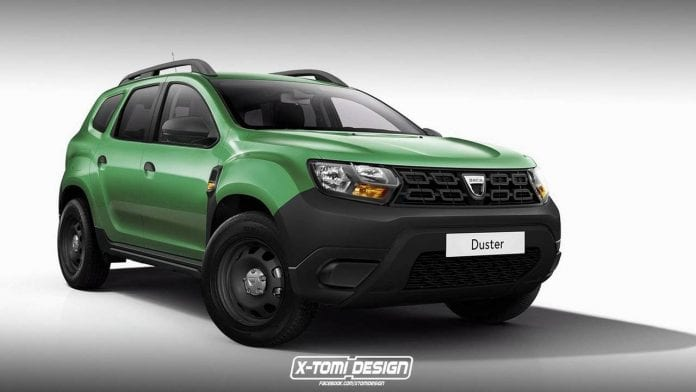 2018 dacia duster shown in pickup gt and three door form for Interieur nouveau duster 2018