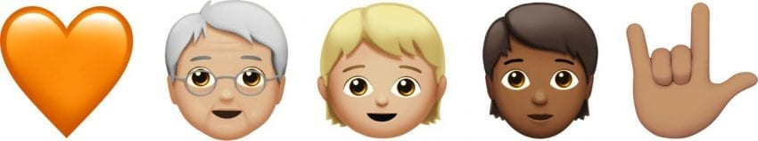 ios 11 1 emoji heart genderless asl love 850x159