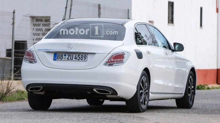 2019 Mercedes Benz C Class rear end 747x420