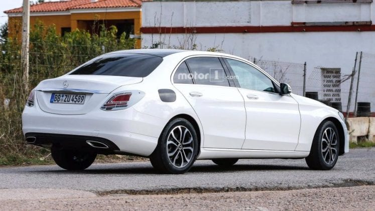 2019 Mercedes Benz C Class rear right side 747x420