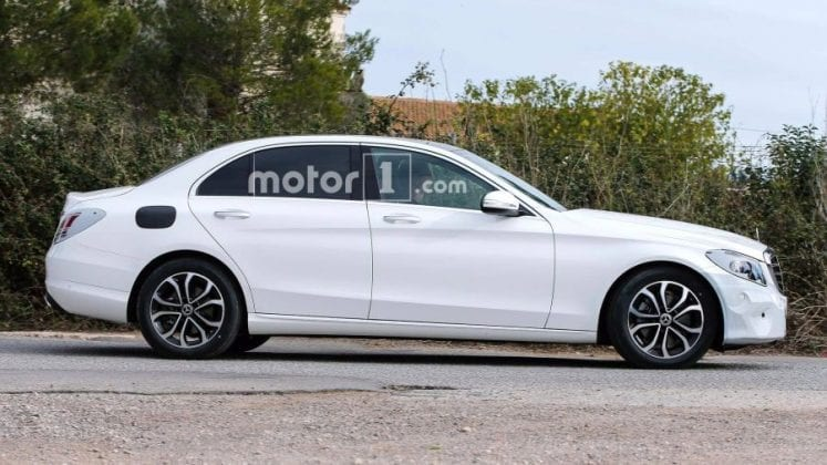 2019 Mercedes Benz C Class side view 747x420