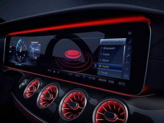 2019 Mercedes Benz CLS Interior 1 561x420