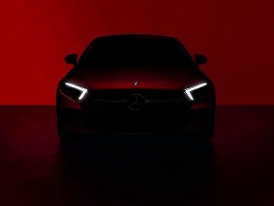 2019 Mercedes Benz CLS teaser 1 559x420