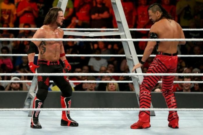 AJ Styles vs. Nakamura 1